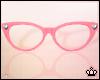 Pink Cateye Glasses