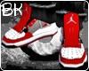 [B/K]Jordan4 Fuzions Red