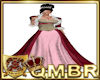 QMBR Fur Bead Gown RRGP