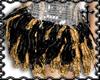 * Sequin Tutu Blk/Gold