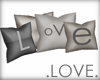 .LOVE. Deco 4 Pillows