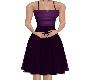(V)violet cocktail gown