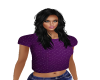 purple dazzle top