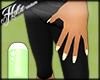 [Hot] L Green Star Nails