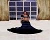 Blue Sapphire Harem Gown