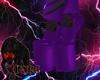 Skull Purple 2/3 shoe