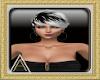 (AL)Ruche Black Earrings