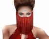 Ava Harem Veil Red