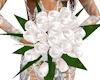 !Bridesmaid white roses
