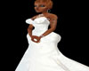 All White Eve Gown XXL