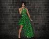 -1m- Black&green dress