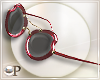Alma Red Sunglasses