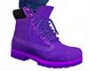 Purple Lace Boots 2 (M)