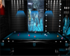 -G- Blue Pool Table