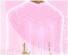 ♔ Top e Fringe Pink