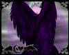 Purple Blk Folding Wings