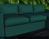 Forest Green Sectional