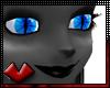 (V) Blue cat eyes