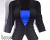 ! L! Black Blue Jacket