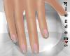 Natural nails, pink gray
