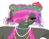 candie panda hair