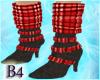 *B4*Red SchoolGirl Boots