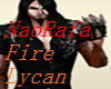 Fire Lycan Real Tail