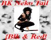 BK Neko Tail - Blk & Red