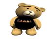 DANCING JD TEDDY BEAR
