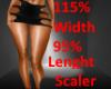 Wider Leg Scaler