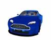 Cobalt Blue Aston Martin
