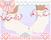 Floral Bunny Socks