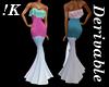 !K! Delure Ruffle Dress