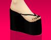 (glittery) flip flops