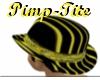 Pinstripe -tyt~ Hat
