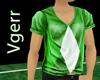 Sexy Green Plaid Shirt