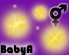BA Gold Stars Bubbles