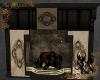 Steampunk Cafe Fireplace
