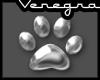 *ven* sticker: dog feet