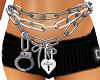 Mm*Chain belt & Lock