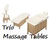 Trio Massage Tables