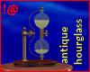 !@ Antique hourglass