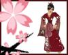 Nya~ Red Blossom Kimono