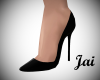 Jai Black Spiked Pump