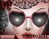 FD Heart Pink Glasses