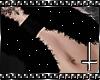   :FurVest Glitter Black
