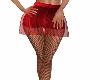 sheer mini with leggings