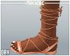 NKC_Tie up sandals Pink