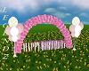 Birthday Balloon Arch P