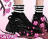 Black Sneakers+Socks